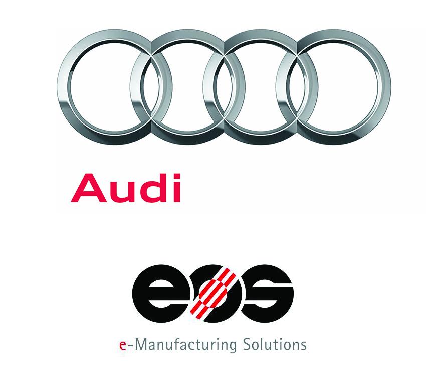 Audi-Logo: Neues Corporate Design /Das neue Audi Markenlogo: Die Vier Ringe werden um den Markenkern
