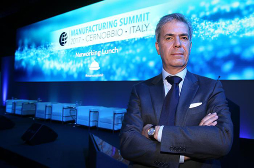 Manufacturing Summit su 'Manufacturing 4.0: The key drivers enabling competitiveness and societal prosperity'