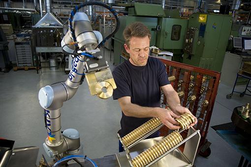 Universal Robots manipolazione