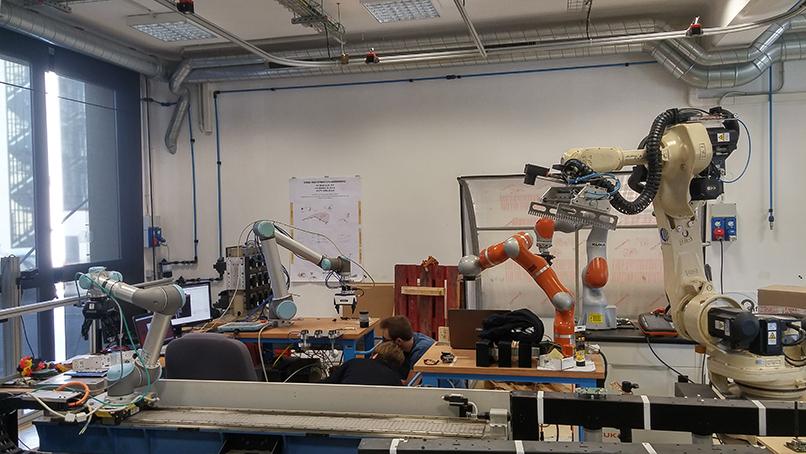 Vicentini laboratorio robotica CNR