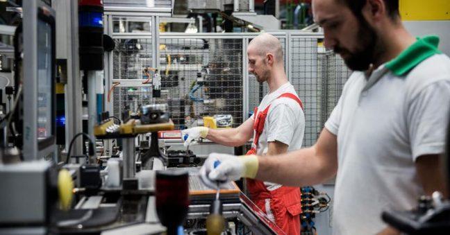 produzione industriale Italia Eurostat