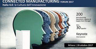 Tecnologie abilitanti Connected Manufacturing Forum