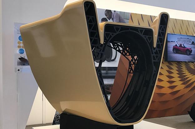 Livrea yacht scafo stampa 3D Autodesk