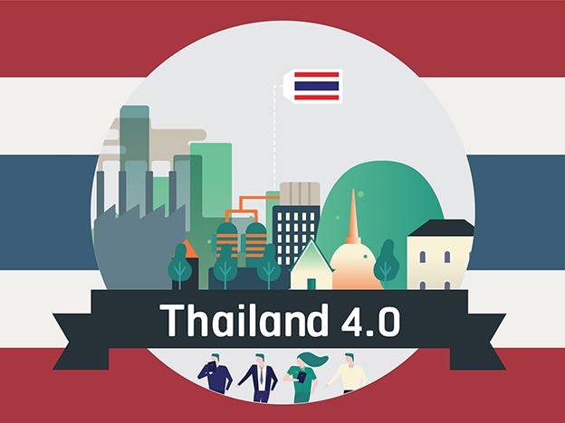 Tailandia 4.0 robot automazione