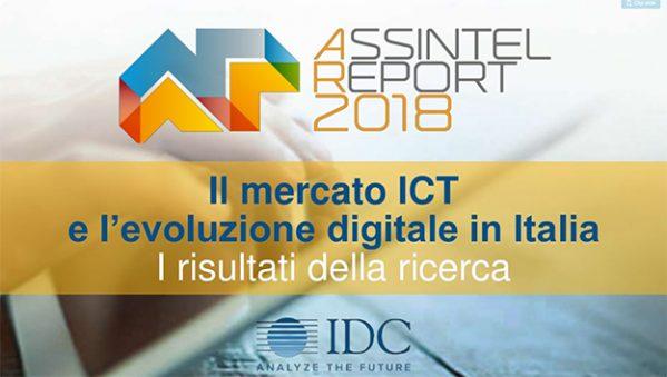 ICT mercato Italia 2018 IDC report Assintel
