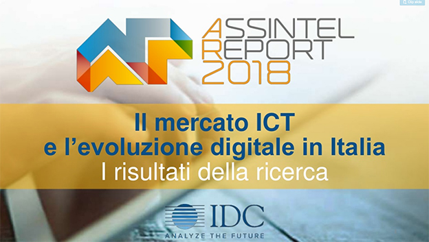 ICT mercato Italia 2017 IDC
