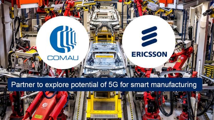 Ericsson Comau accordo 5G