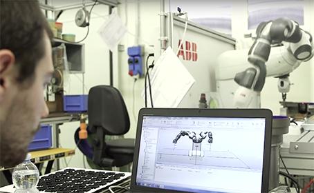 formazione cobot automazione Azeta Zeo Asioli ABB