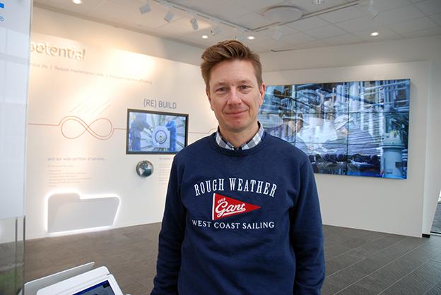 SKF condition monitoring Fredrik Magnusson