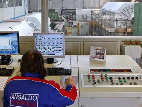 Ansaldo Energia Lighthouse Plant Genova