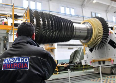 Lighthouse Plant Ansaldo Energia Genova