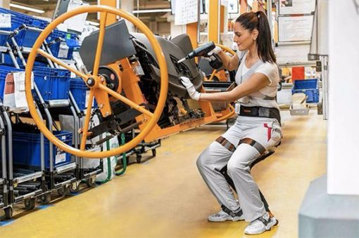 esoscheletri operai robot