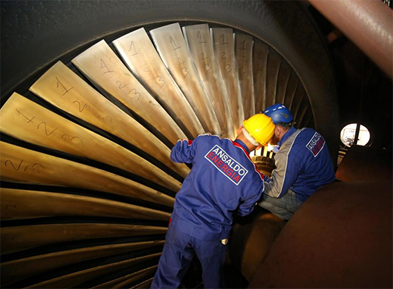 turbina a gas Ansaldo Energia Lighthouse Plant