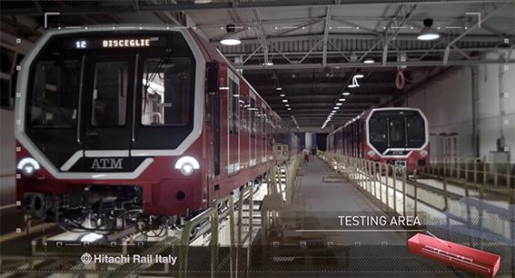 treni del futuro Hitachi Rail Italy Reggio Calabria