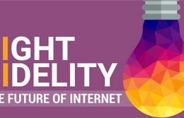 Li-Fi trasmissione dati luce LED To Be