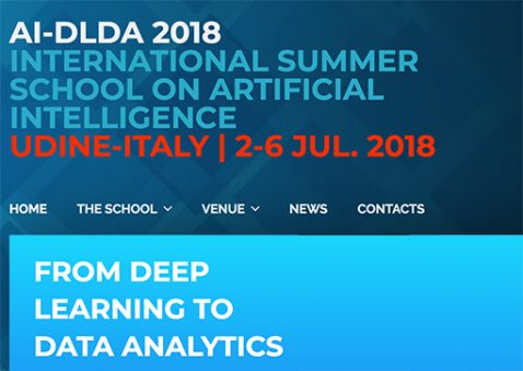 intelligenza artificiale Summer School Udine