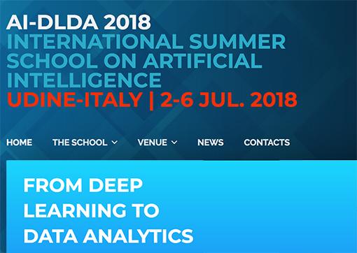 Summer School intelligenza artificiale Udine