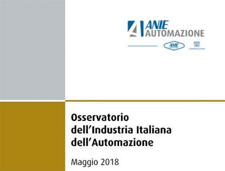 automazione Osservatorio industria italiana Anie