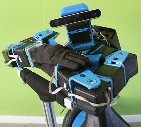 robot EGO Centro E Piaggio Pisa