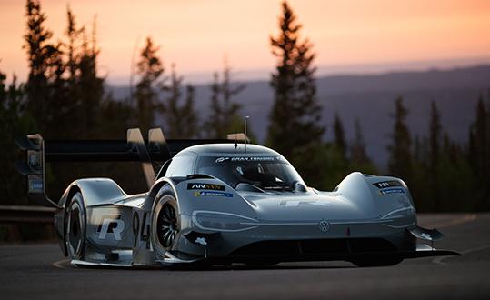 auto da corsa elettrica Volkswagen Ansys