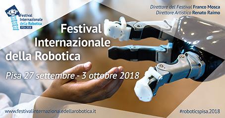 Festival Internazionale della Robotica 2018 Pisa