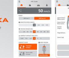 Kuka app HRC collaborazione uomo-robot