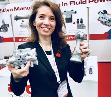 componenti idraulici stampa 3D Aidro Valeria Tirelli