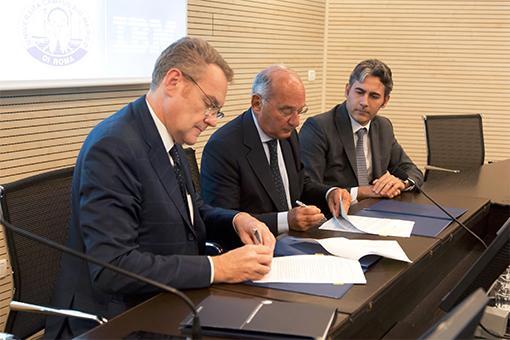 Accordo IBM campus biomedico Roma sanità del futuro