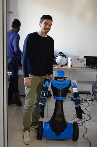 robot AlterEgo CrossLab Pisa