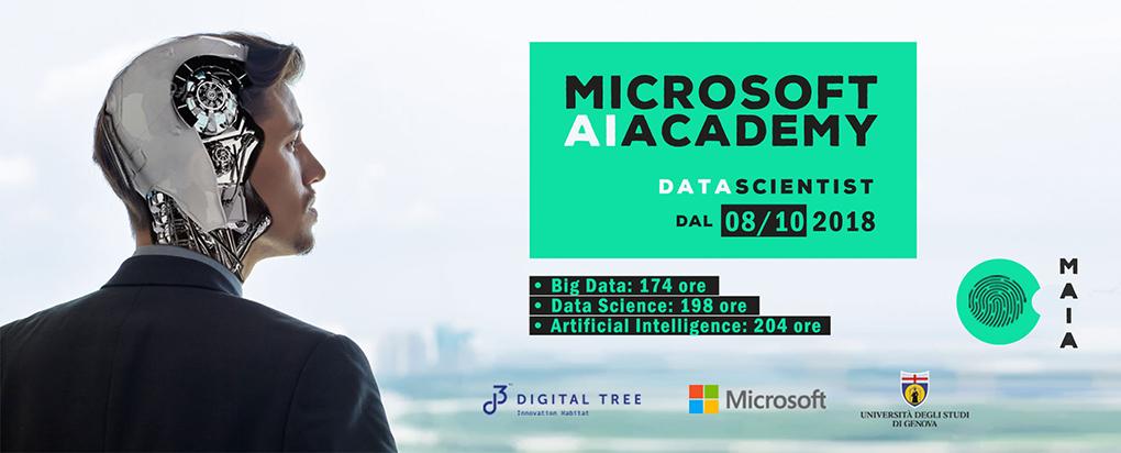 Maia Microsoft AI Academy Digital Tree Genova