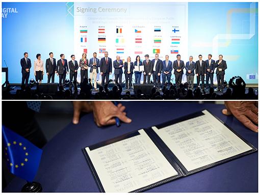 blockchain European Partnership