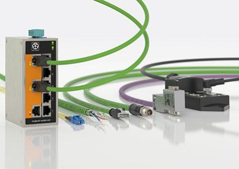 Ethernet connessioni cavi Lapp Smart Factory