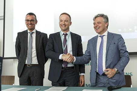 Siemens accordo DIH