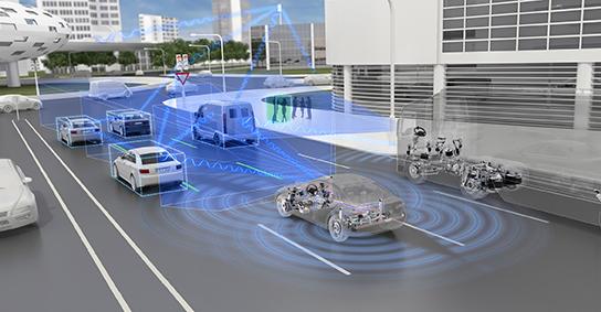 ZF telecamere guida autonoma Mobileye