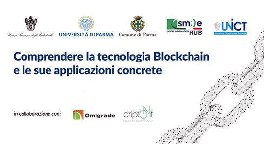 blockchain atti convegno Parma
