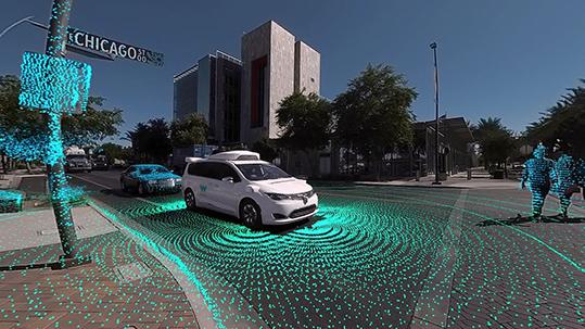 guida autonoma Waymo test California