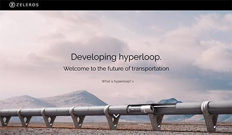 simulazione Zeleros Hyperloop trasporto elettrico