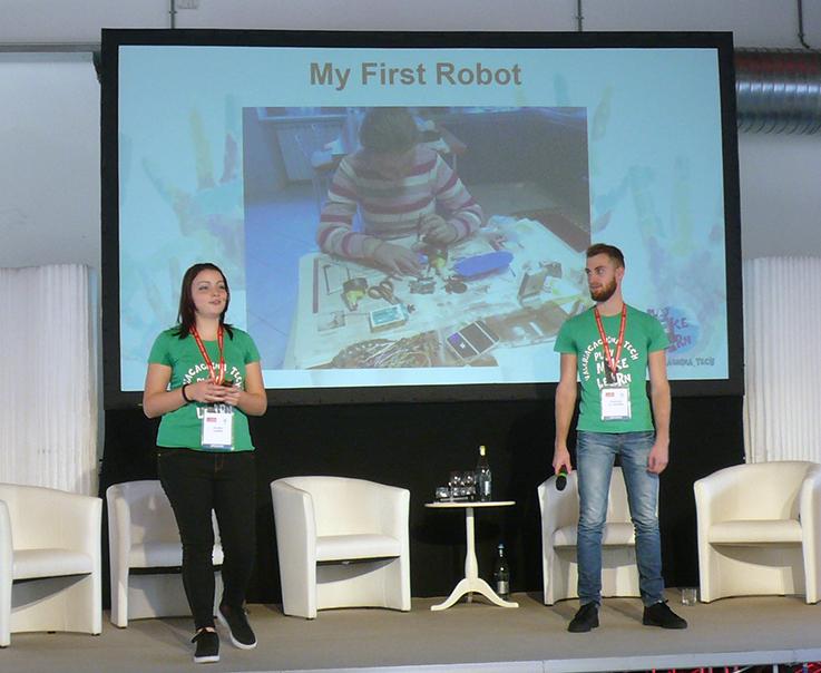 scuola robot Valeria Cagnina