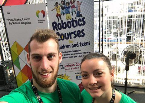 scuola robotica Valeria Cagnina Francesco Baldassarre