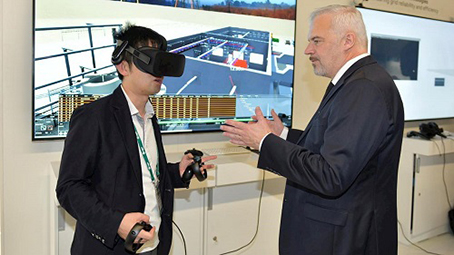 ABB progettazione 3D VR
