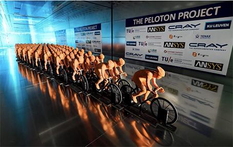 Ansys aerodinamica ciclismo progetto Peloton