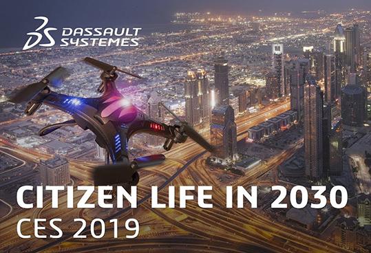 Dassault Systèmes città 2030