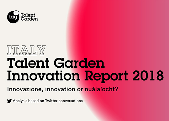 Innovation Report Italia hashtag twitter