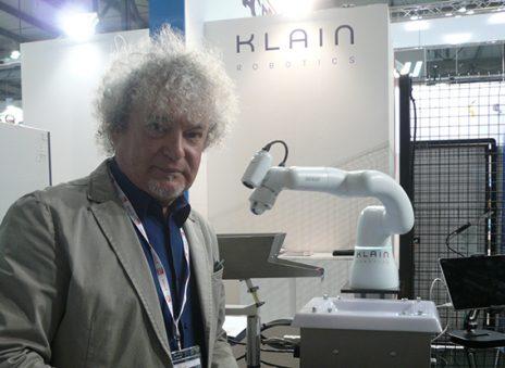 robot KLAIN robotics automazione Fabio Greco