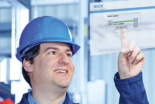 remore service condition monitoring Sick