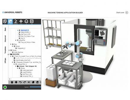 robotica Universal Robots Application builder