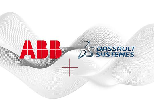 soluzioni digitali ABB partnership Dassault Systèmes
