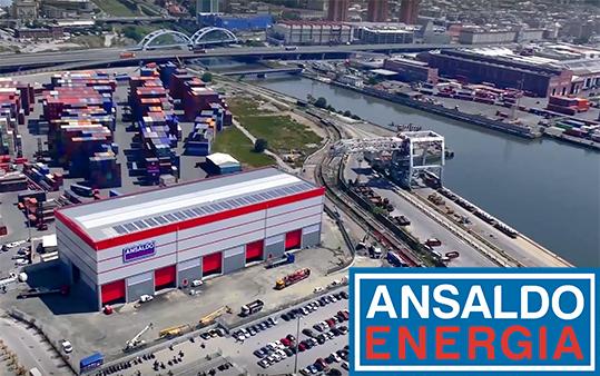 Ansaldo Energia digital twin Siemens PLM
