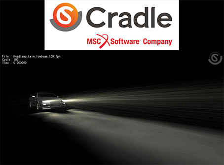 fluidodinamica CFD MSC Software Cradle