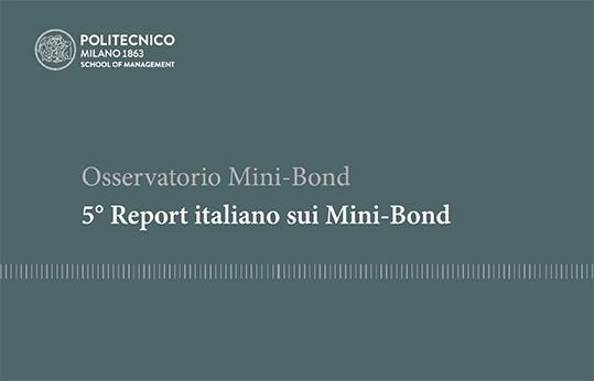 Minibond report Osservatorio Politecnico di Milano